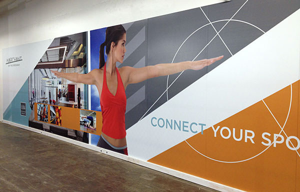 Wall Graphic Display